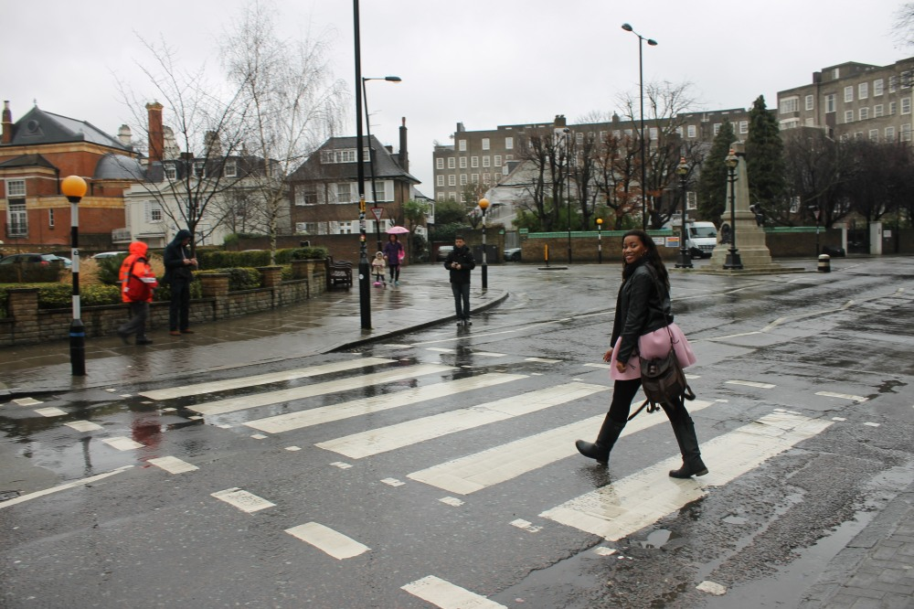 Abbey Road. Moment of Silence to appreciate The Beatles ;)